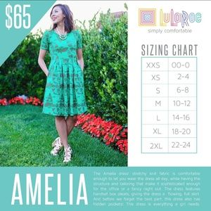 LuLaRoe Dresses - LuLaRoe Amelia XL Red Blue Striped Dress Pleated P